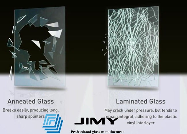annealed glass vs laminated glass
