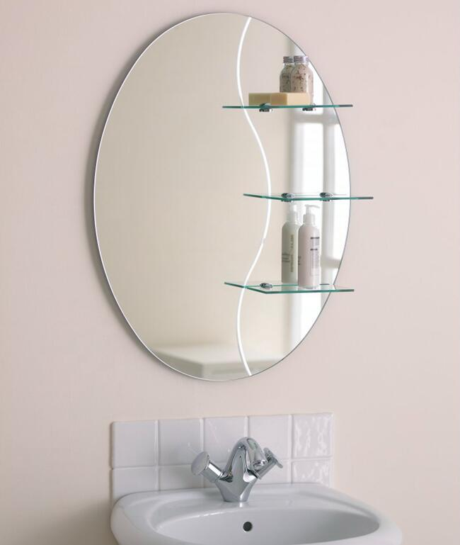 Copper Free Silver Mirror For Bathroom