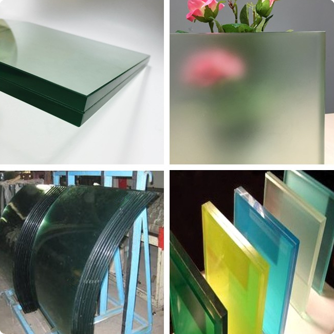 21.52mm tempered laminated glass railing