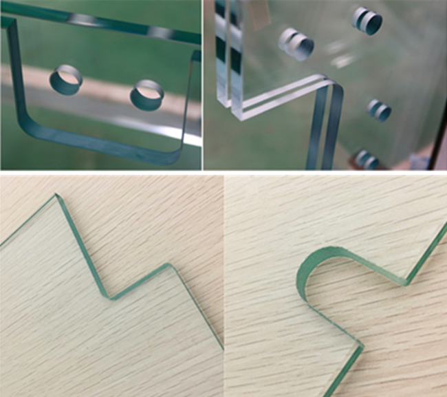 Processing Tempered Laminated Glass with Holes and Cutouts