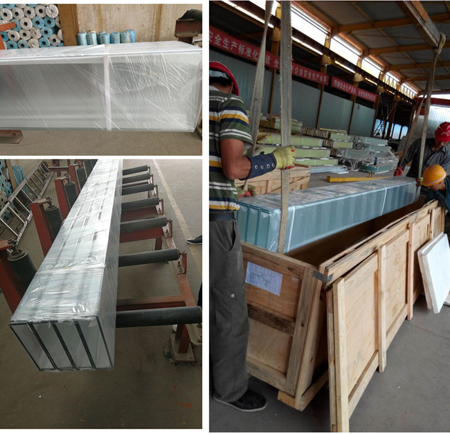safety packing for U profile glass