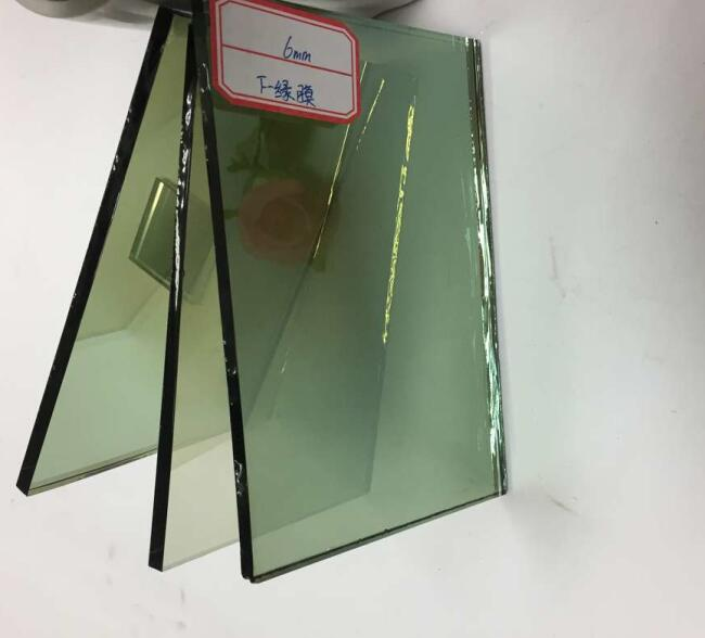 6mm light green reflective glass