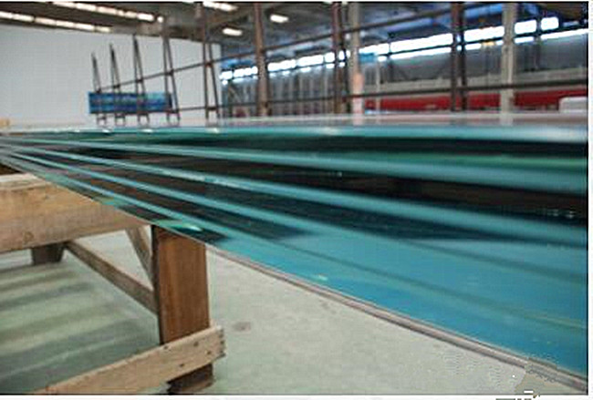 large size ultra clear SGP tempered laminated glass