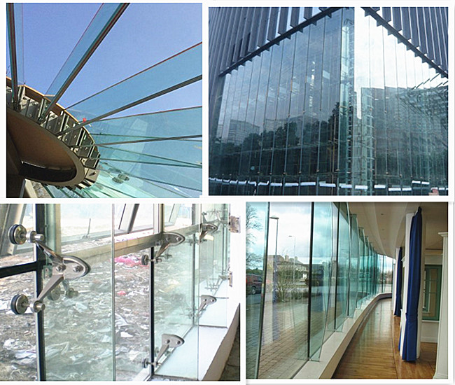 glass rib support structure curtain wall
