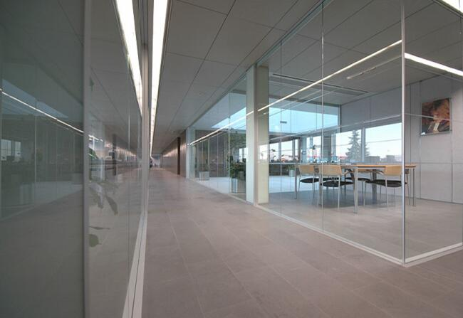 China Glass Partition Wall Manufacturer