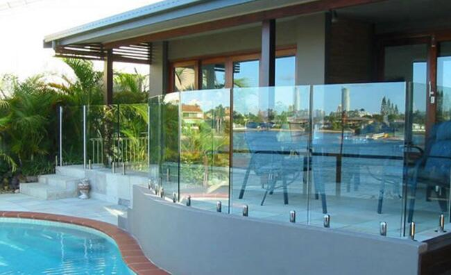 Frameless Tempered Glass Balustrade