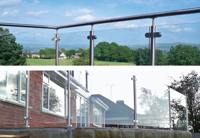 Semi-Framed Glass Balustrade
