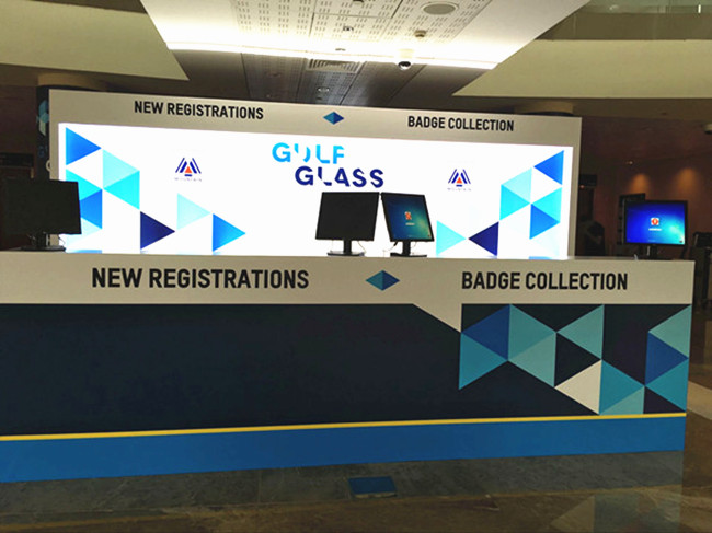 JIMY glass in Gulf Glass/Gulfsol 2017(Dubai)