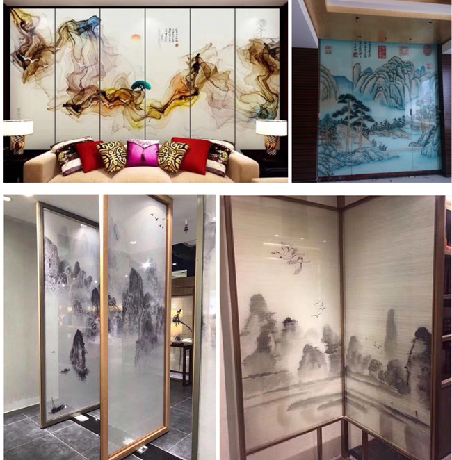 decorative laminated glass project