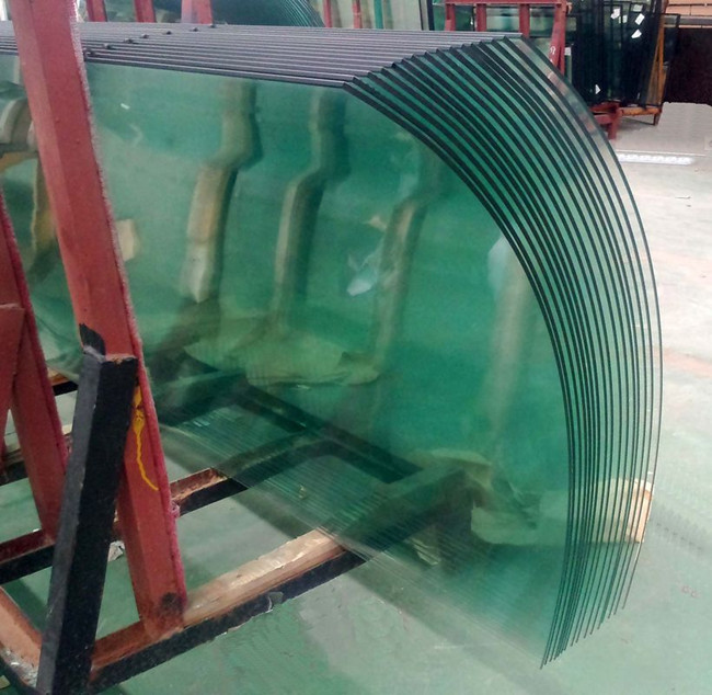 China curved glass supplier