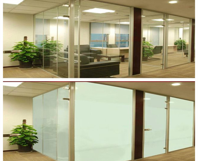 smart glass panel wall
