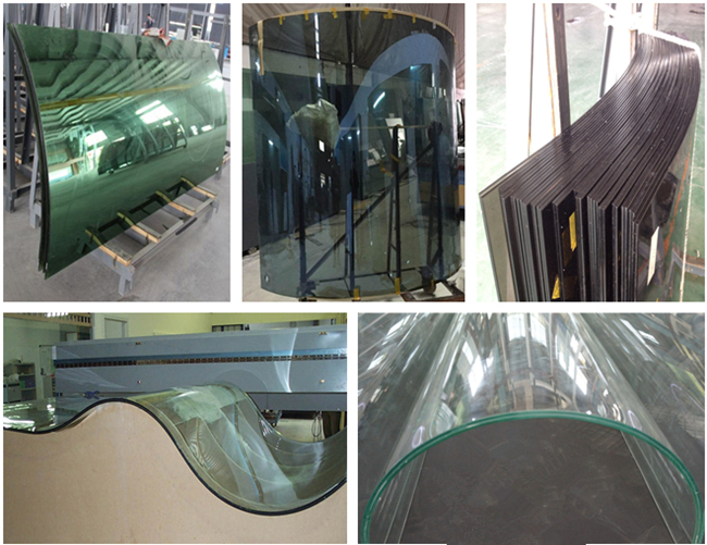 10104 bent laminated safety glass supplier