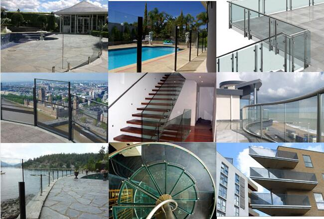 10mm Tempered Glass Balustrade Factory Price