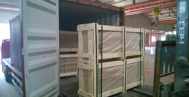 19mm tempered glass safety loading