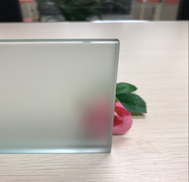 10mm obscure safety toughened glass
