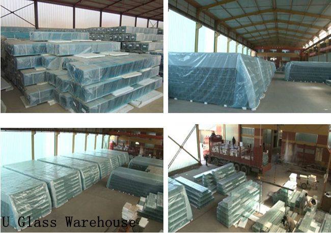 U profile translucent glass price