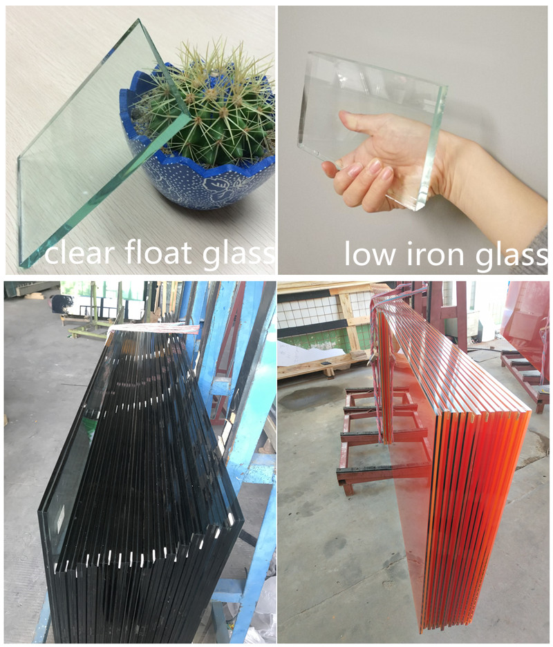 colored pvb semi-tempered laminated glass