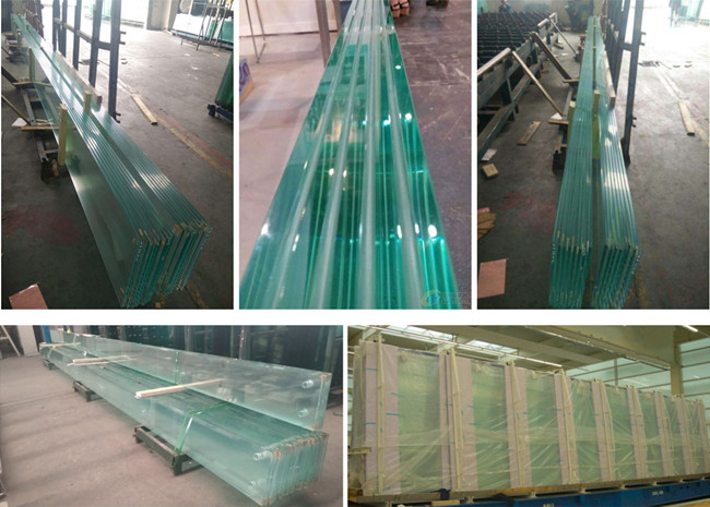 tempered glass fins and tempered laminated glass fins