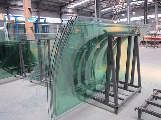 China curve tempered glass manufacturer