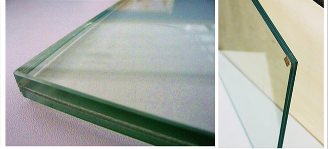 11.14mm clear laminated glasss factory