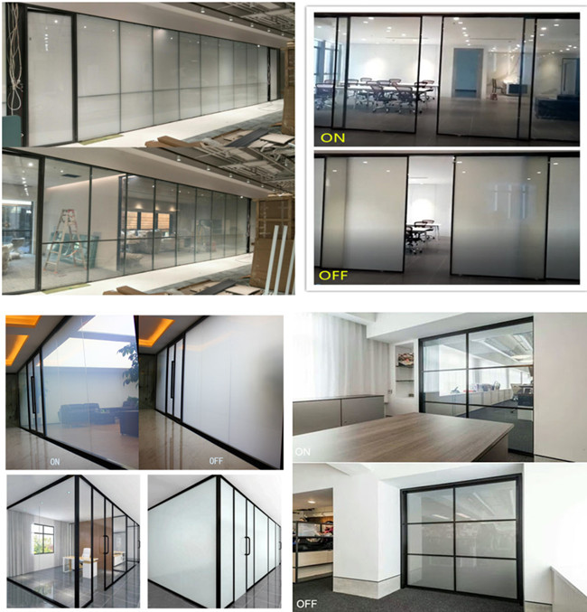 insulated smart PDCL film glass application