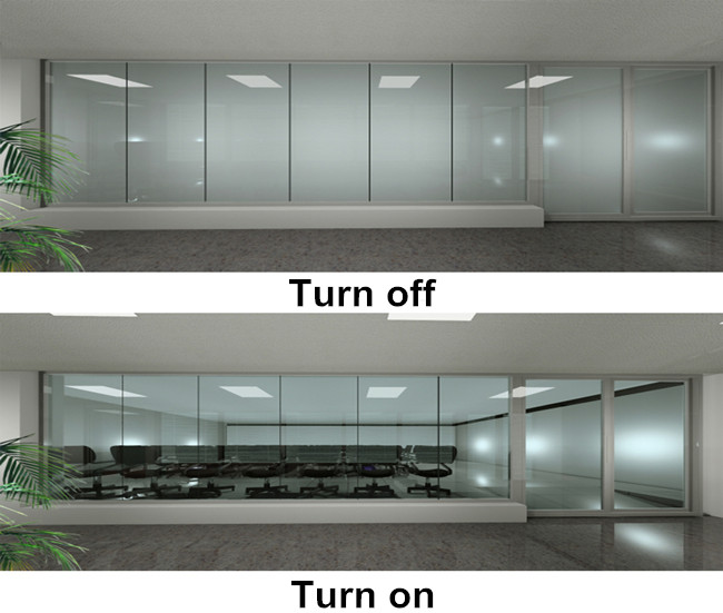 smart glass for meeting room