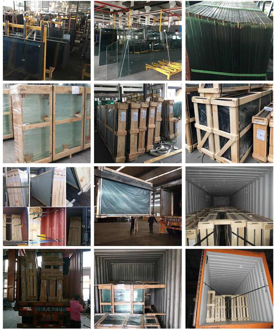 safety packing and loading 12.76mm laminated glass