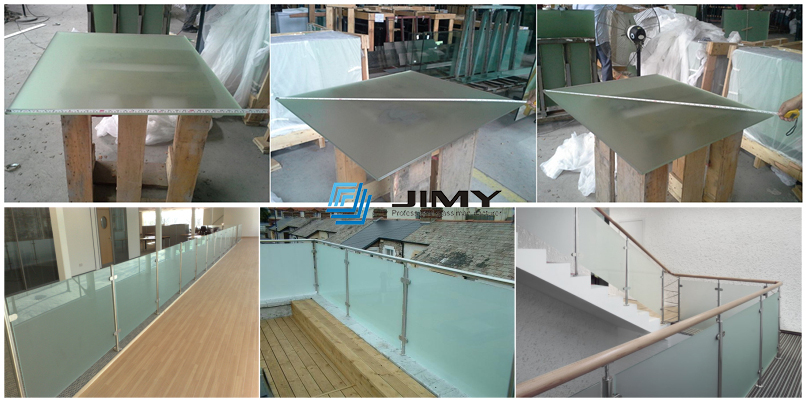 Excellent quality 6.38mm 8.38mm laminated glass 33.1 44.1 non toughened laminated glass for sale