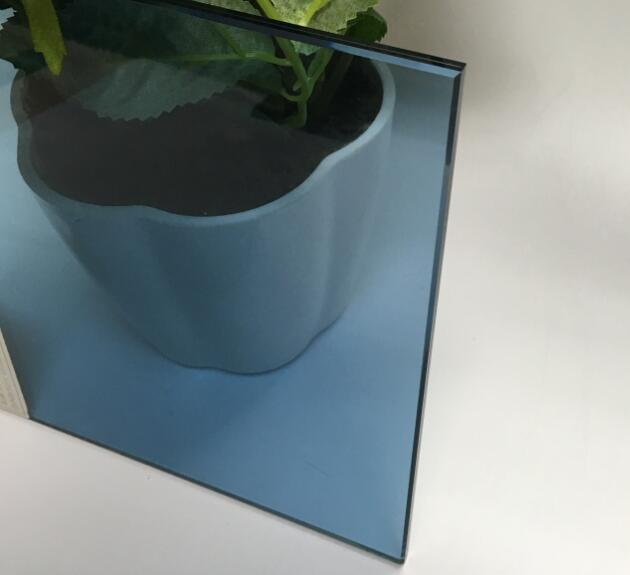 331 light blue laminated glass