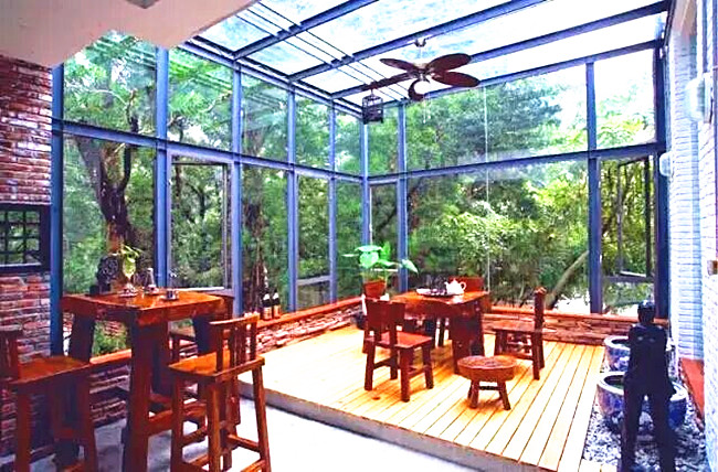 insulated glass sun room supplier