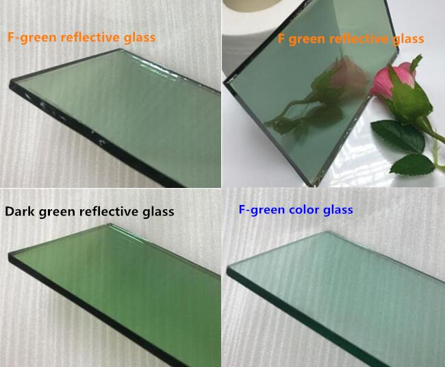 Green color reflective glass manufacturer