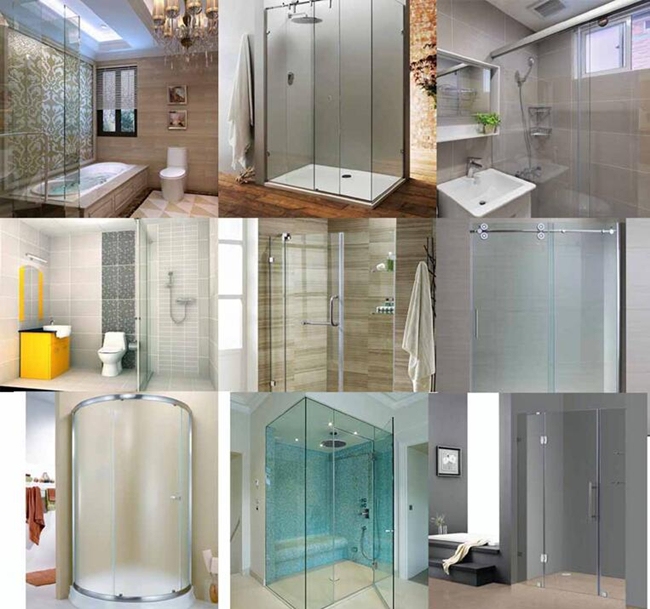 Shower Door Glass Manufacturer China