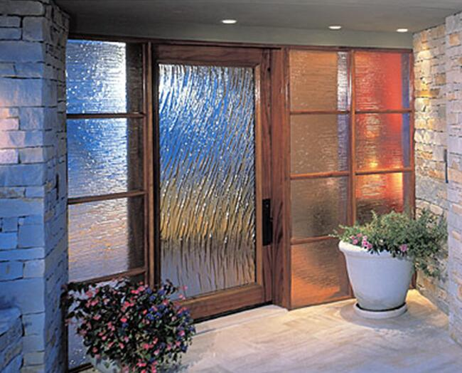 Patterned Glass For Windows Doors
