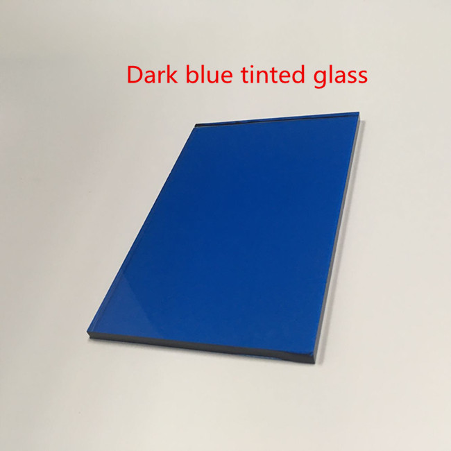 5.5mm dark blue tinted glass