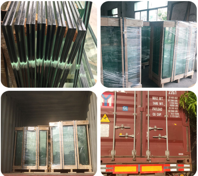safety packing and loading for tempered laminated glass