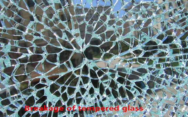 safety bullet proof glass panel