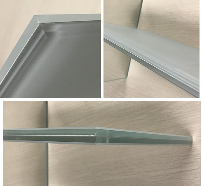 13.14mm frosted laminated glass