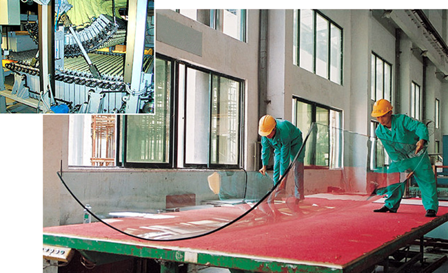 Curved Glass inspection