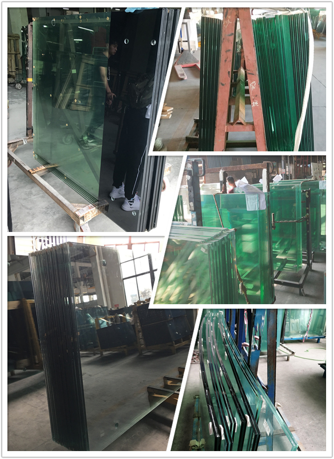 8+8mm ESG VSG glass, 17.52mm toughened laminated glass, tempered laminated glass 88.4 manufacturer