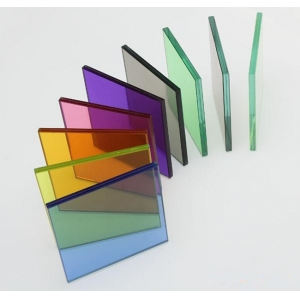 10.76mm color PVB toughened laminated glass price,China multicolor laminated glass supplier