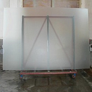 12mm Colorless Acid Etched Glass 12mm Clear Frosted Glass