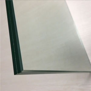 17.52mm clear PVB tempered laminated glass,884 shatterproof laminated glass China supplier
