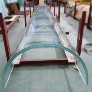 21.52mm curved tempered laminated glass price, 10104 bent laminated safety glass supplier