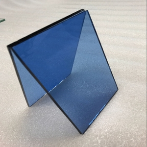 4mm dark blue float glass price, 4mm dark blue tinted glass factory