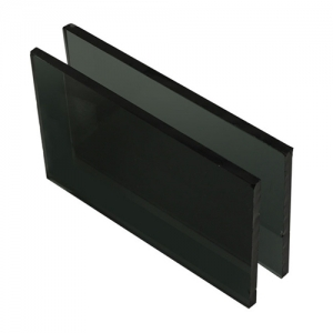 4mm dark grey color tinted float glass for windows and doors