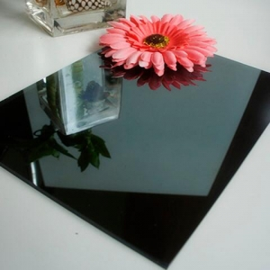5mm dark grey tinted reflective glass supplier china, 5mm black reflective glass factory price