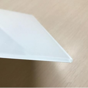 5mm super clear white back painted safety glass manufacturer China
