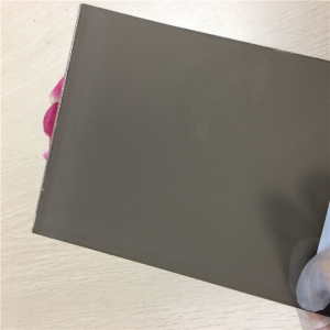 8.76mm not transparent laminated grey glass safety glass 44.2 with 0.38mm grey color pvb and 0.38mm white color pvb for construction