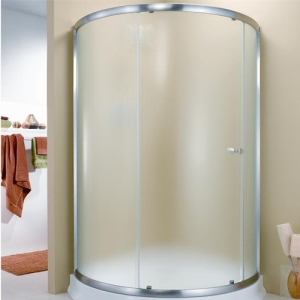 8mm 10mm 12mm curved glass shower doors China manufacturer