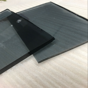 Cheap price energy saving 10mm Euro grey tinted float glass sheets